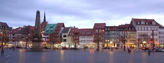Erfurt, Domplatz
