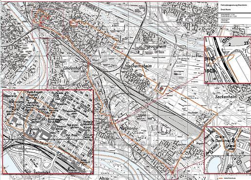 Strecke: Drais-Route Mannheim