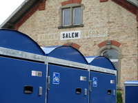 Fahrradboxen am Bahnhof Salem