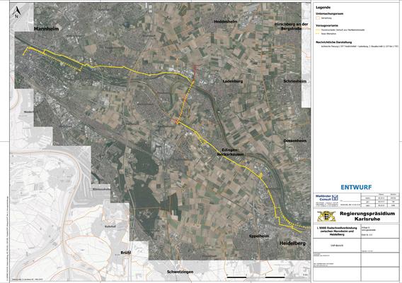 Radschnellverbindung Rhein-Neckar (Heidelberg - Mannheim)